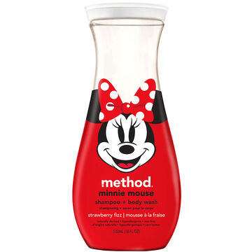 Method Minnie Mouse Body Wash - Strawberry Fizz - 532ml