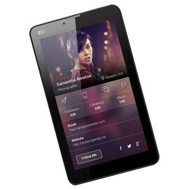 QJO Q7-3G Dual SIM Unlocked Tablet - Q73GBLK