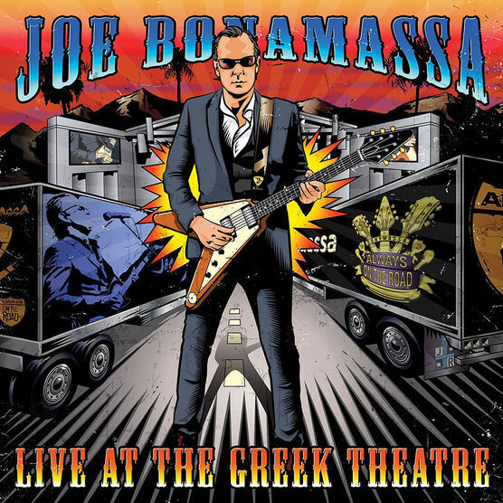 Joe Bonamassa - Live at the Greek Theatre - 4 LP Vinyl