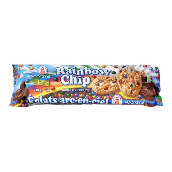 Voortman Rainbow Chip Cookies - 350g