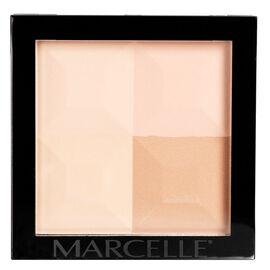 Marcelle Quad Pressed Powder - Medium