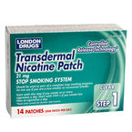 London Drugs Transdermal Nicotine Patch Step 1 - 21mg - 14's