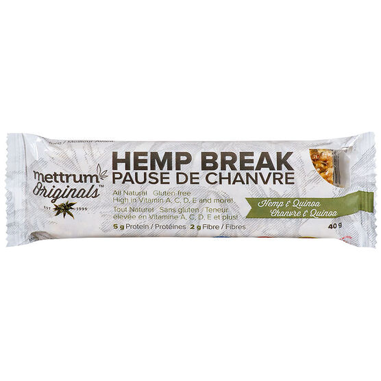Mettrum Originals Hemp Break - Hemp & Quinoa - 40g