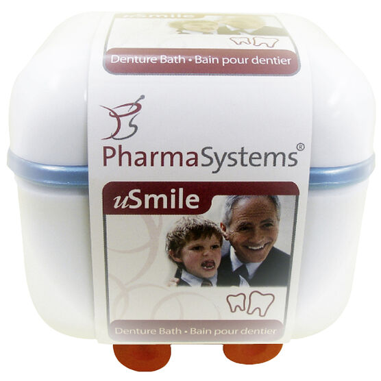 PharmaSystems U Smile Denture Bath