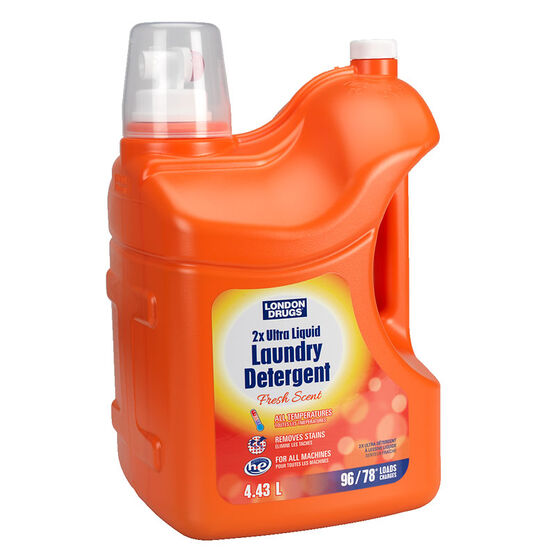 London Naturals 2X HE Laundry Detergent  - Scented - 4.43L