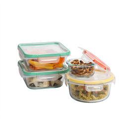 Snapware Total Solution Glass Food Storage Container Set - 8 piece