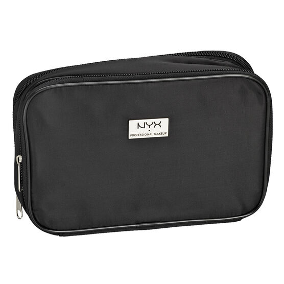 NYX Professional Makeup Large Double Zipper Makeup Bag - Black