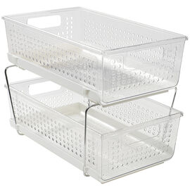 Madesmart 2 Tier Organizer - Clear