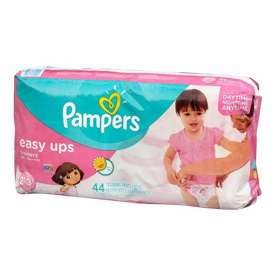 Pampers Easy Ups - Girls - 2T-3T- 44's/Mega
