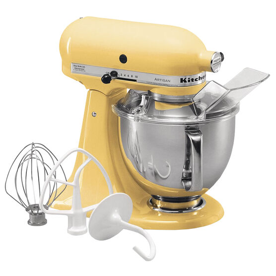 KitchenAid Artisan Series 5 quart Stand Mixer - Majestic Yellow - KSM150PSMY