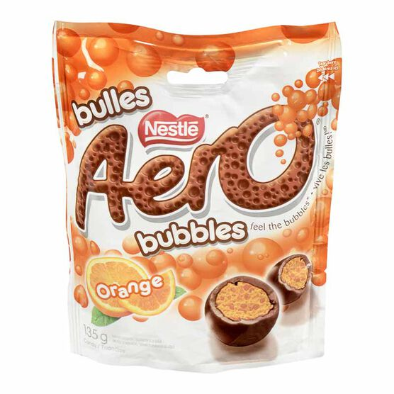 Nestle Aero Bubbles - Orange - 135g