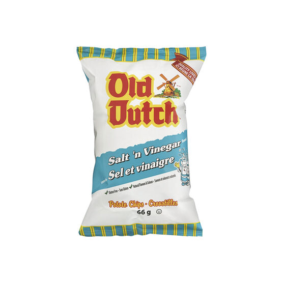 Old Dutch Salt 'N Vinegar Chips - 66g