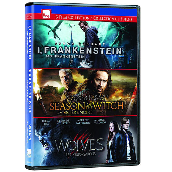 3 Film Fantasy Collection - DVD