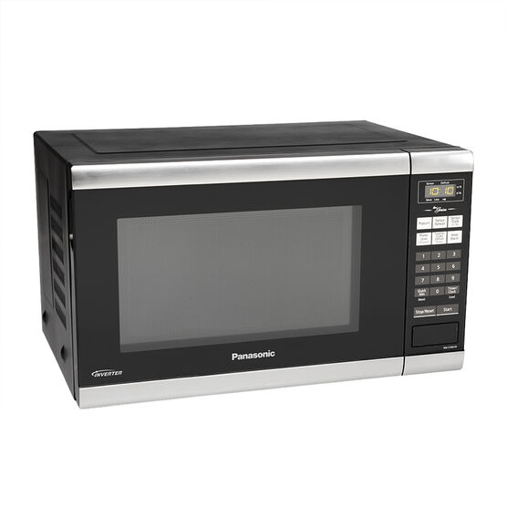 Panasonic 1.2 cu ft. Genius Microwave - Black - NNST661B