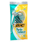Bic Twin Select Sensitive Skin Shavers - 10's
