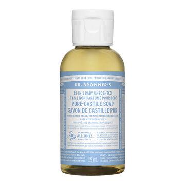 Dr Bronner's Liquid Soap - Baby Mild - 59 ml