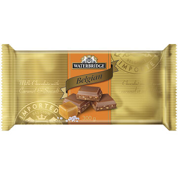 Waterbridge Chocolate Bar - Caramel & Sea Salt - 300g