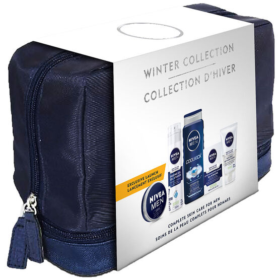 Nivea Winter Collection Skin Care for Men - 5 piece