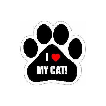 Pet Magnet - I Love My Cat