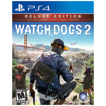 PRE-ORDER: PS4 Watch Dogs 2 Deluxe Edition