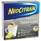 NeoCitran Total Cold Night - Honey Lemon - 10's