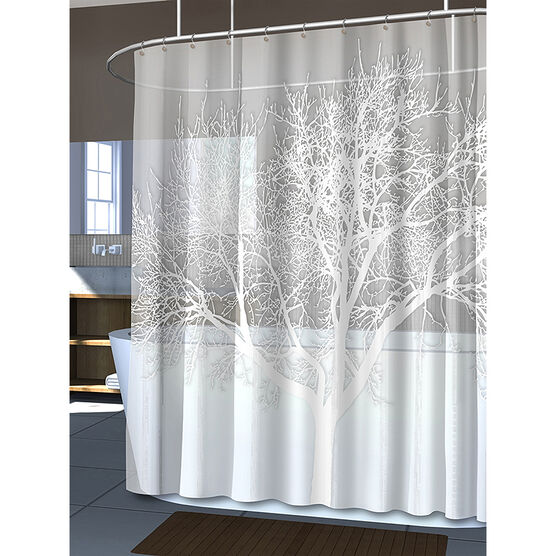 Splash Eva Shower Curtain Liner - Pearl