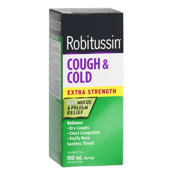 Robitussin Extra Strength Cough and Cold - 100ml