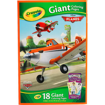 Crayola Giant Colouring Pages - Disney's Planes
