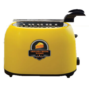 Smart Planet Grilled Cheese Toaster - Gold/Black - GCN-1ST
