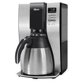 Oster 10 Cup Thermal Coffee Maker - Black/Silver - BVSTPSTX91-