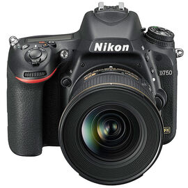 Nikon D750 Digital SLR Camera with 24-120mm VR Lens - 33711