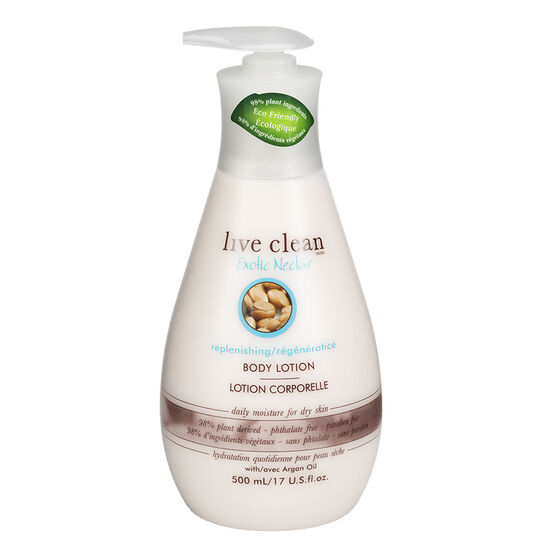 Live Clean Exotic Nectar Replenishing Body Lotion - 500ml