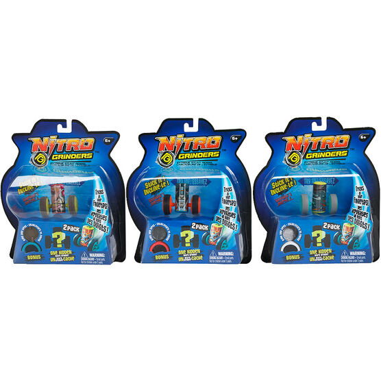 Nitro Grinders Bonus Pack - Assorted