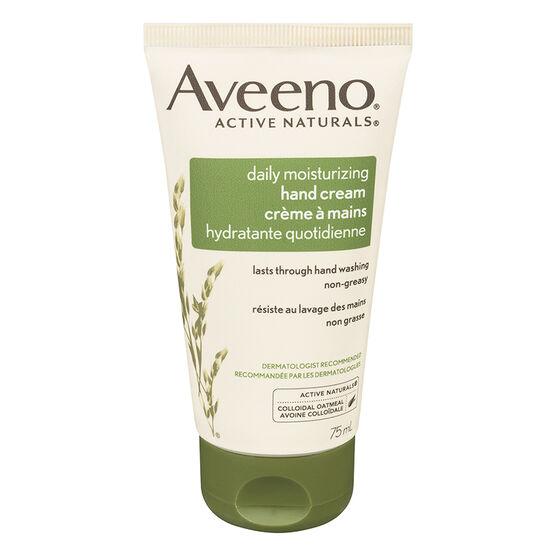 Aveeno Active Naturals Daily Moisturizing Hand Cream - 75ml
