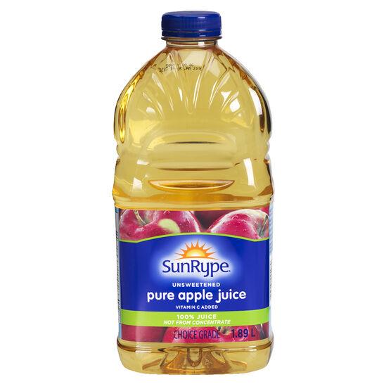 Sun-Rype Pure Apple Juice - 1.89L