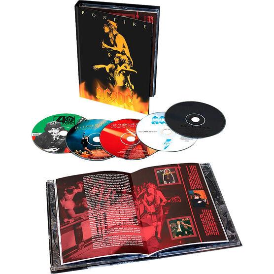 AC/DC - Bonfire Box Set - 5CD + Book