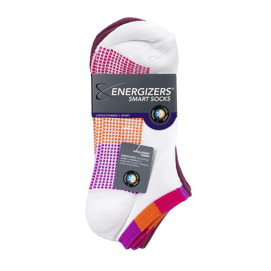 Energizers Ladies Fashion Sport Socks - Pink - Sizes 9-11