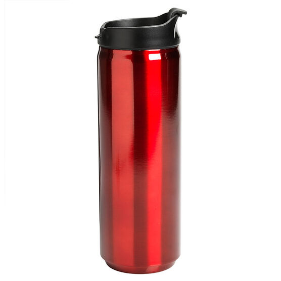 London Drugs Stainless Steel Vacuum Tumbler - Metallic Red - 16oz.