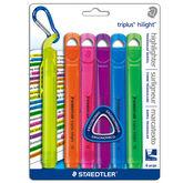 Staedtler Triplus Highlighter - 6 pack