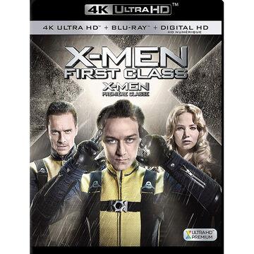 X-Men: First Class - 4K UHD Blu-ray