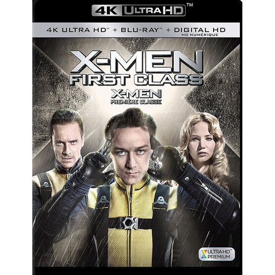 X-Men: First Class - 4K UHD Blu-ray