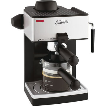 Sunbeam 4 Cup Steam Espresso Maker - BVSBECM160-033