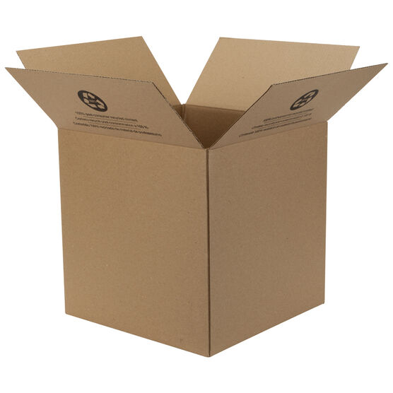 Duck Folded Box - 14 x 14 x 14Inch
