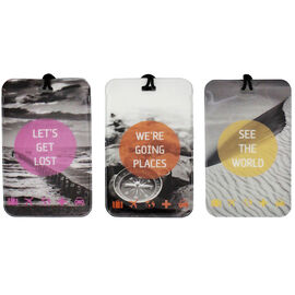 My Tagalongs Luggage Tags Assorted Colours - 3's