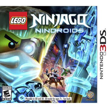 3DS Lego Ninjago Nindroids