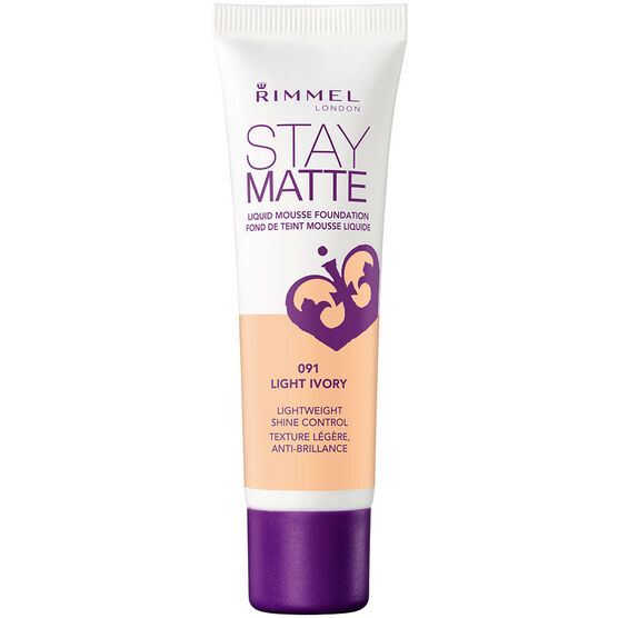 Rimmel Stay Matte Foundation - 091 Light Ivory