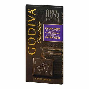 Godiva 85% Santo Domingo Chocolate Bar - 100g