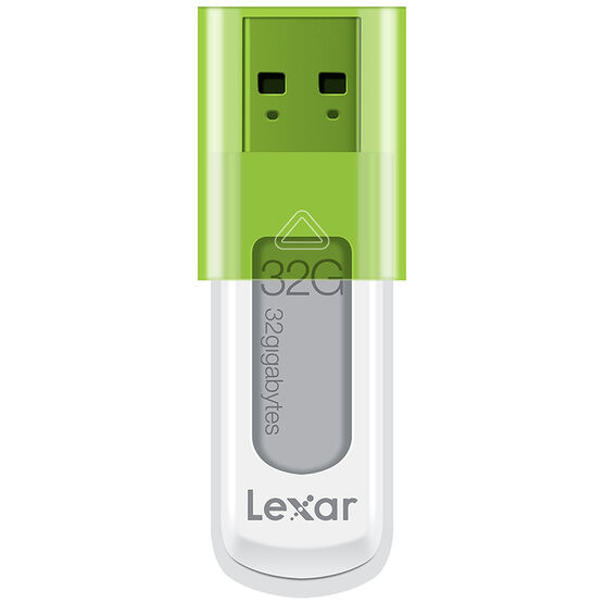 Lexar 32GB JumpDrive S50 USB Flash Drive - White - LJDS50-32GASBNA