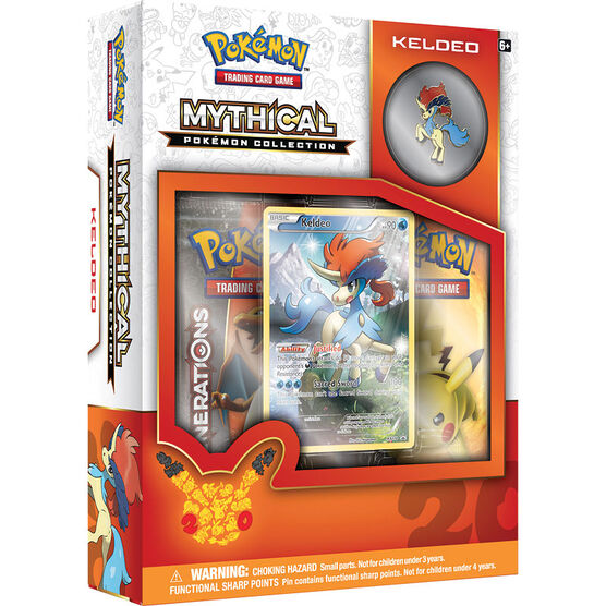 Pokémon 20th Anniversary Mythical Keldeo Box