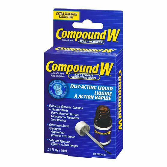 Compound W Liquid Wart Remover - 10ml